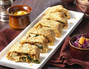 Recept: vegan strudel met champignon en spinazie