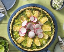 Recept: Spinazie quiche