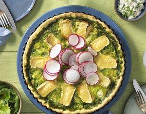 Recept: Spinazie quiche