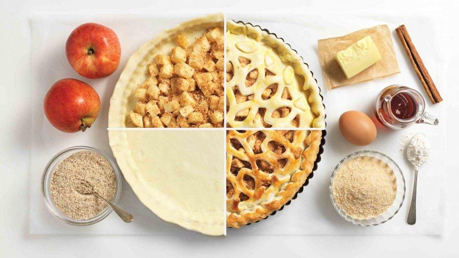 Recept: creatieve appeltaart - Tante Fanny
