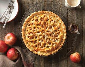 Recept: Decoratieve appeltaart