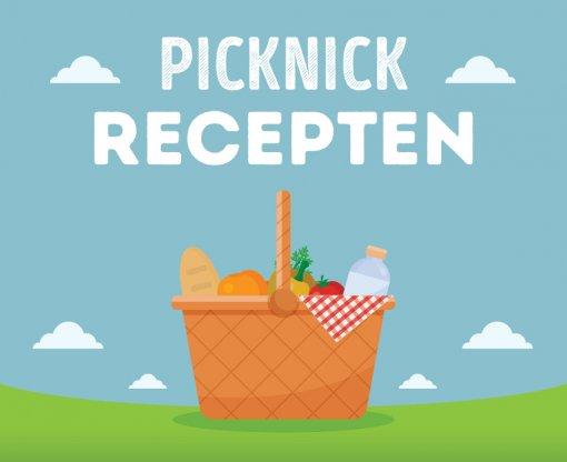 Lekkers voor in de picknickmand