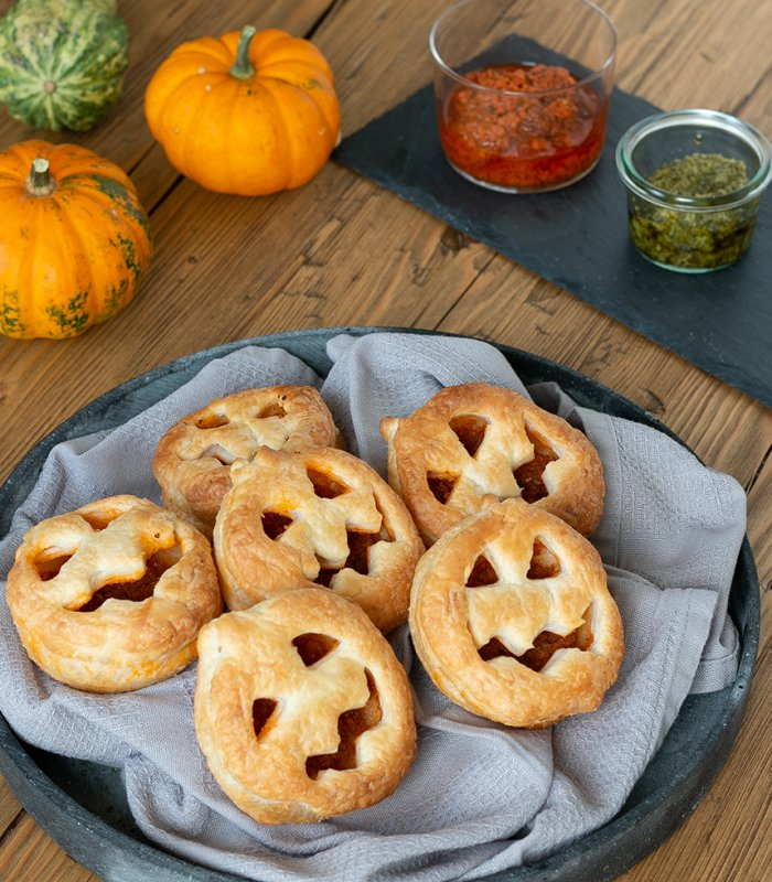 Halloween gezichtjes - Tante Fanny