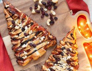 Recept: bladerdeeg kerstboompjes