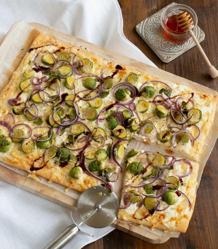 Pizza met spruitjes - Tante Fanny
