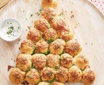 Recept: pizzaballetjes kerstboom