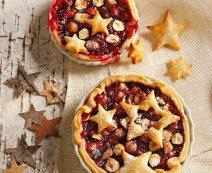 Recept: bladerdeegtaart met cranberry