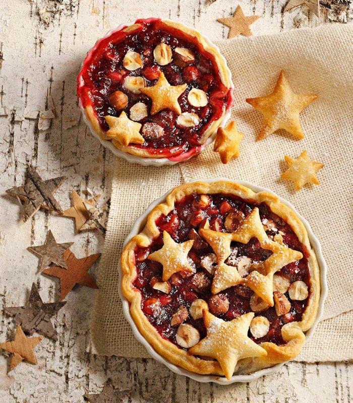 Recept: bladerdeegtaart met cranberry - Tante Fanny