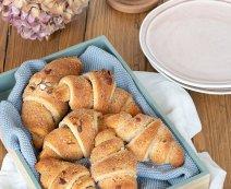 Recept: zoete croissant van bladerdeeg met amandel