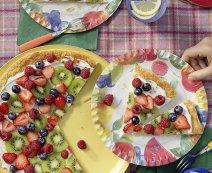 Recept: zoete pizza met fruit
