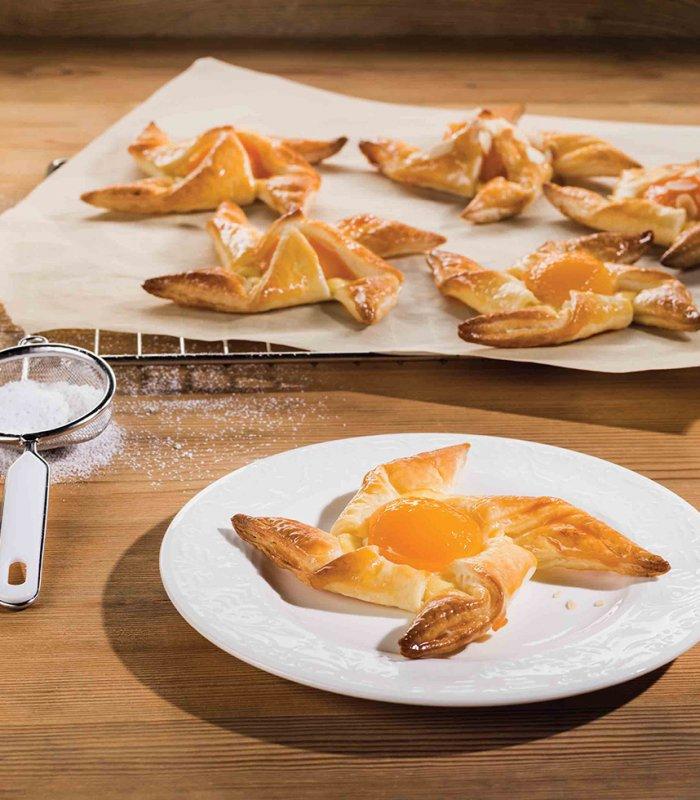 Recept: zoete bladerdeegmolens met abrikozen - Tante Fanny
