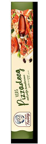Pizzadeeg tomatensaus