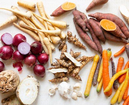 Recepten met Groenten onder de grond