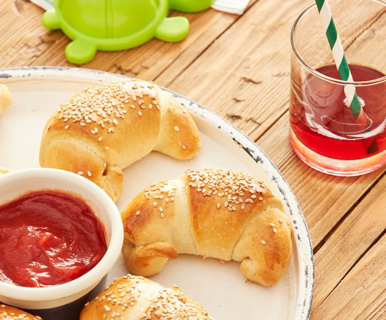 Recept: mini hotdogs - Tante Fanny