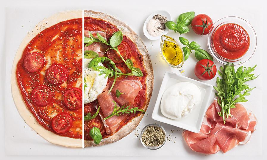 Recept: pizza rustiek burata - Tante Fanny
