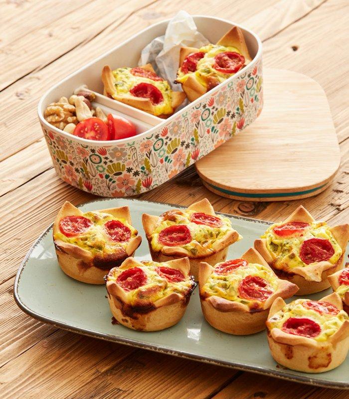 Recept: hartige muffins van pizzadeeg - Tante Fanny