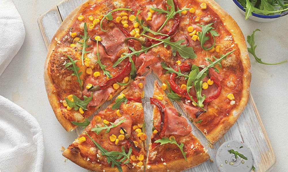 Rustieke pizza Diavolo - Tante Fanny