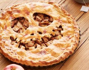 Halloween recept: griezelige appeltaart