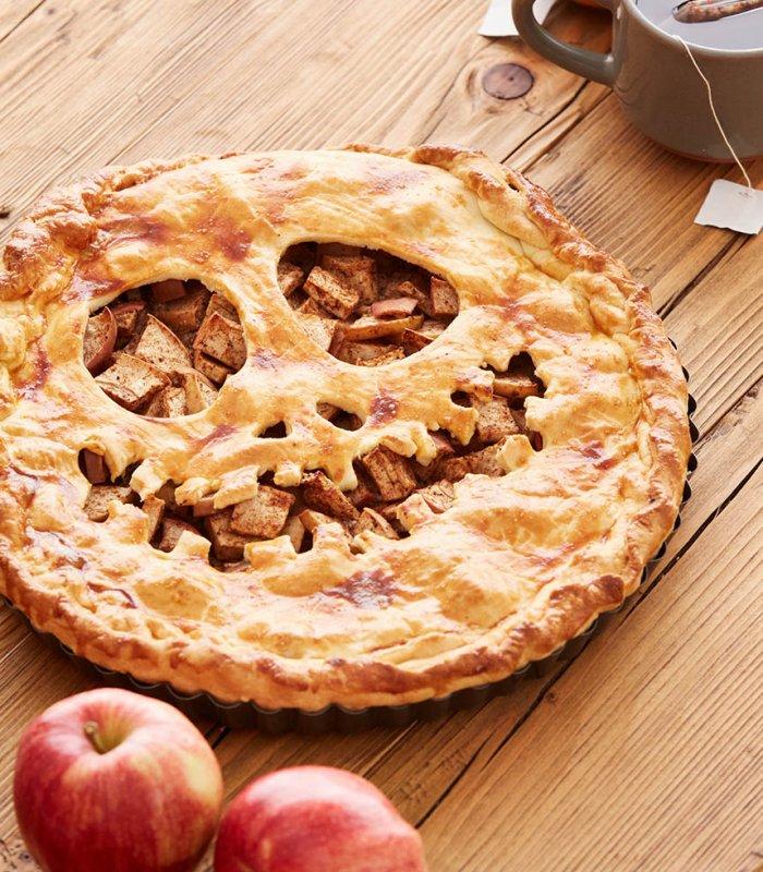 Halloween recept- griezelige appeltaart