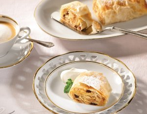 Traditionele appelstrudel