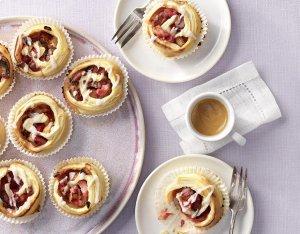 Zoete rabarber muffins – Vegan