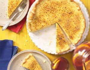 Spaanse crema catalana taart