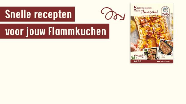 Receptenboekje flammkuchen - Gratis bestellen