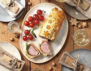 Recept: varkensrollade met salie in bladerdeeg